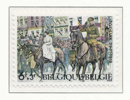 D - [150614]SUP//**/Mnh-N° 1476, Patriotique, Joyeuse Entrée Du Roi Albert 1er Et Reine Elisabeth à Liège Libéré, SNC - Unused Stamps