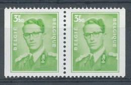 D - [150833]SUP//**/Mnh-N° 1563d, Des Carnets, Type Marchand (lunettes), 3,50F+3,50F, Se Tenant Horizontalement, N.d. Bo - Unused Stamps