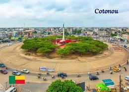 Benin Cotonou Red Star Square New Postcard - Benin