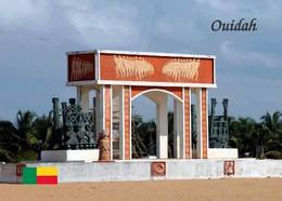 Benin Ouidah Door Of No Return Monument New Postcard - Benin