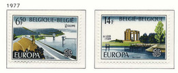 D - [151592]SUP//**/Mnh-c:3e-N° 1853/54, EUROPA-CEPT 1977, Paysages, SNC - Unused Stamps