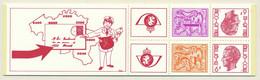 D - [151718]SUP//**/Mnh-B14, Carnet De 1978, Chiffre Sur Lion Avec Banderole (1F Et 2F) Et Elstrom (6F), SNC - Booklets 1953-....