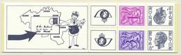 D - [151719]SUP//**/Mnh-B15, Carnet De 1978, Chiffre Sur Lion Avec Banderole (1F Et 3F) Et Elstrom (8F), SNC - Booklets 1953-....