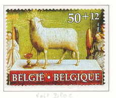 D - [152581]TB//**/Mnh-N° 2208, L'agneau Mystique, Retable De La Cathédrale St Bavon, Painting, Du Bloc 62, SNC - Unused Stamps
