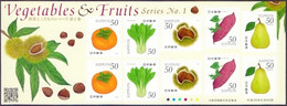 Japan - Vegetables And Fruits No.1 (Part 1), Souvenir Sheet, MINT, 2013 - Fruit