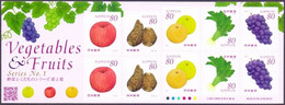 Japan - Vegetables And Fruits No.1 (Part 2), Souvenir Sheet, MINT, 2013 - Fruit