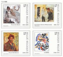 D - [153899]TB//**/Mnh-N° 2741/44, Art, 200 Ans Du Musée Des Beaux-Arts à Gand, Tableaux, Painting, Du Carnet 30, SC, SN - Unused Stamps