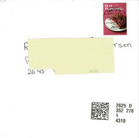 Denmark 2021; Cover With Cake Stamp. - Covers & Documents
