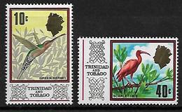 Trinidad Und Tobago 1969 Vögel Mi.-Nr. 232, 237 **/MNH - Sin Clasificación