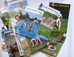 Zeitschriften - FKK / Freikörperkultur / Der Naturist / FKK-Magazin - Sammlung 70 Stück - Viaggi & Divertimenti