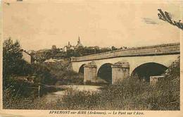 08 - Apremont Sur Aire - Le Pont Sur L'Aire - Oblitération Ronde De 1938 - CPA - Voir Scans Recto-Verso - Sonstige Gemeinden