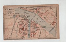 Bayonne Plan De Ville 1919 - Unclassified