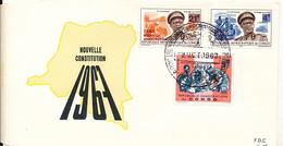 CONGO KINSHASA ZAIRE NOUVELLE CONSTITUTION 1967 FDC - FDC