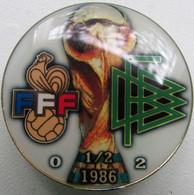 Pin FIFA World Cup 1986 1/2 Final France Vs Germany - Calcio