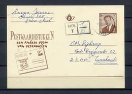 1997 Gelopen Briefkaart 16 Fr  2400 MOL Met Kast Stempel MOL T / 1-33 - Cartoline [1951-..]