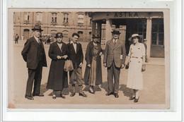 STRASBOURG - CARTE PHOTO - Groupe De Personnages 1934 - Très Bon état - Strasbourg