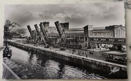 50 Cherbourg-(Manche) En Gare Maritime-Le Quai De France Vu Du Paquebot Queen Mary Avant L'acostage - Cherbourg