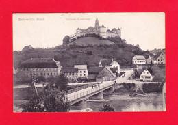 E-Allemagne-187P1 SCHAB. HALL Schloss Comburg, Petite Animation, Cpa - Autres