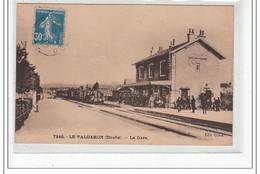 LE VALDAHON - La Gare - Très Bon état - Autres Communes