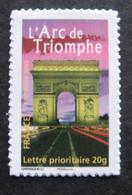 France 2007 - 113A (3599B) Timbre Adhésif Du Bloc Personnalisé Arc De Triomphe - Neuf - Adhésifs (autocollants)