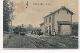 BELLOT : La Gare - Tres Bon Etat - Autres Communes