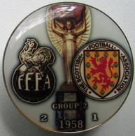 Pin FIFA World Cup 1958 Group 2 France Vs Scotland - Calcio