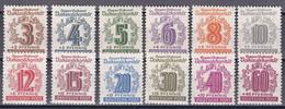 SBZ West-Sachsen 1946 - Mi.Nr. 138 - 149 - Postfrisch MNH - Zona Soviética