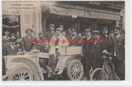 AMIENS : Le Contrôle Du Tour De France 1906 (cyclisme - Automobile) - Très Bon état - Amiens