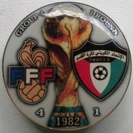 Pin FIFA World Cup 1982 Round 1 Group 4 France Vs Kuwait - Calcio