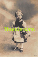 CPA JOLIE JEUNE FILLE CHAPERON ROUGE RPPC REAL PHOTO POSTCARD YOUNG GIRL RED RIDING  HOOD WOLF LOUP - Ritratti