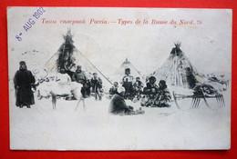 RUSSIA - TYPES DE LA RUSSIE DU NORD , USED 1902 - Russia