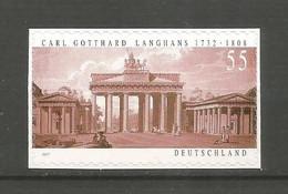 Timbre Allemagne Fédérale Neuf **  N 2461 Autoadhésif - Unused Stamps