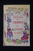 JAPON - Petit Livret Illustré De Collection De Timbres Du Japon Avec 1 Entier Postal - L 98580 - Collezioni & Lotti
