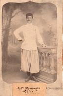 Photo (12 X 7,5 Cm). Sous-lieutenant Hamoche, Des Tirailleurs Algériens - Oorlog, Militair