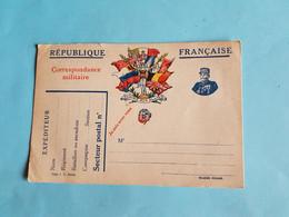CARTE FRANCHISE MILITAIRE  1915   CORRESPONDANCE  MILITAIRE   GLOIRE  AUX  ALLIES - Military Service Stampless