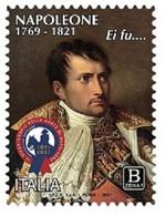 Italia Italy (2021) Bicentenario Morte Di Napoleone Bonaparte / Bicentenary Of Napoleon's Death - Single Stamp (MNH) - Napoleon