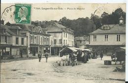 LONGUEVILLE SUR SCIE- Place Du Marché - Other Municipalities