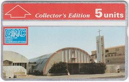 GIBRALTAR A-103 Hologram GNC - Religion, Church - 306A - MINT - Gibraltar