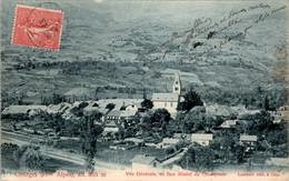 Chorges Vue Générale En Face Massif Du Champsaur Hautes-Alpes 05230 - Andere Gemeenten