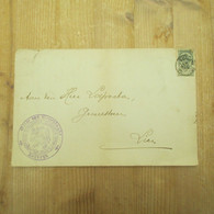 Kortrijk Gilde Van Groeninghe Stempel - Cartes De Visite