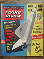 Royal Air Force Flying Review  / February 1959 - Trasporti