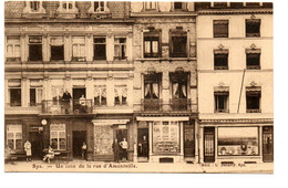 Spa - Un Coin De La Rue D' Amontville - Café Brasserie - Commerce De Machine à Ecrire - Ed: L. Debatty - 2 Scans - Spa