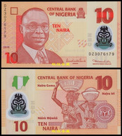 Nigeria 10 Naira, (2010), Sign.3:Sanusi-Nda 7 Digit Numbers, Polymer, Rare, UNC - Nigeria