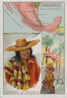 Chromo Aiguebelle 10,5 X 7 - Mexique - Indien Du Mexique - Aiguebelle