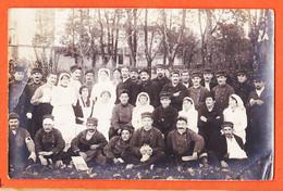 Vab071 ⭐ Possible Mais à Confirmer CASTRES 81-Tarn Hopital Militaire 1914 Blessés Infirmières Mascotte Chien Carte-Photo - Castres