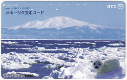 JAPAN O-301 Magnetic NTT [431-829] - Landscape, Mountain - Used - Japón