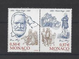 MONACO  YT   N° 2361/2362  Neuf **  2002 - Unused Stamps