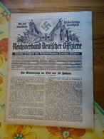 """Zeitschrift """"Reichsverband Deutscher Offiziere"""" Nr.28   Berlin 1937 - Zonder Classificatie"""