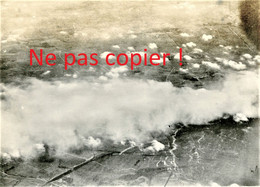 PHOTO ALLEMANDE - GAZANGRIFF - ATTAQUE AU GAZ A LOCALISER DAN LE NORD DE LA FRANCE - GUERRE 1914 - 1918 - 1914-18