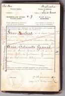 Commune De Saint-Trond  Livret De Mariage - Collezioni